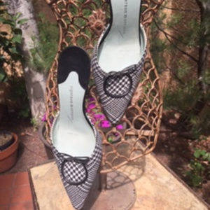 ❤️ REDUCED ❤️ * Sigerson Morrison * Fabric Mules